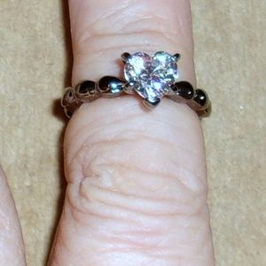 Jewelry - Heart Shaped CZ Ring  7